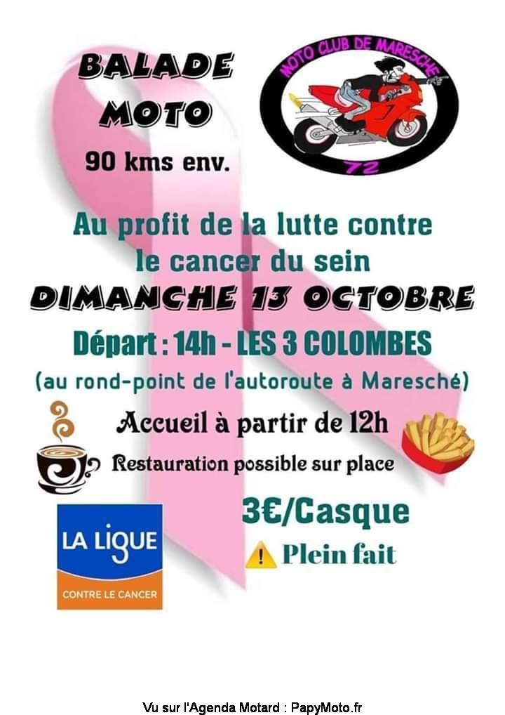 MANIFESTATION - Balade Moto - Dimanche 13 Octobre 2019 - Maresché ( 72 ) Balad119