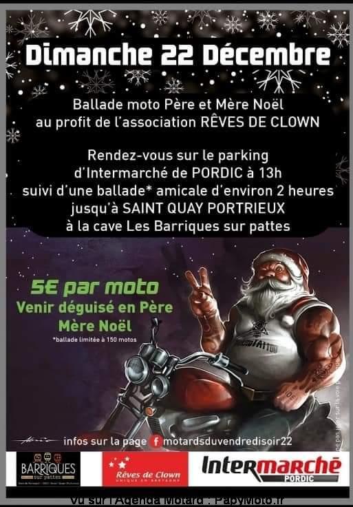 MANIFESTATION - Balade Moto Père & Mère Noel - Dimanche 22 Décembre 2019 - Pordic Balad135