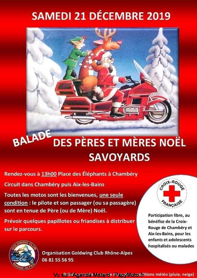 MANIFESTATION - Balade des Pères Noel et Mères Noel Savoyards -21 Décembre 2019 - Chambéry Balad137