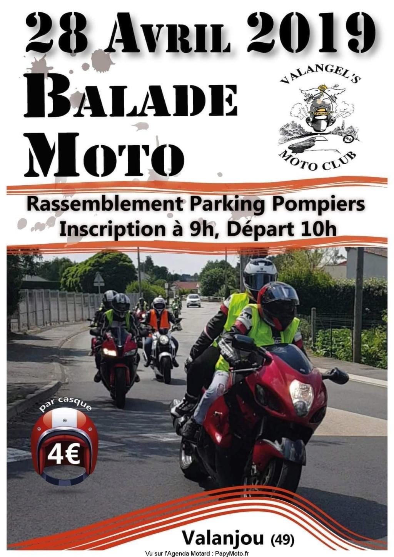 balade Moto -  28 Avril 2019 - Valanjou (49) Balade78