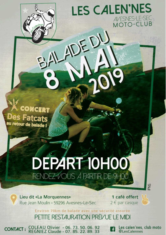 Balade - 8 Mai 2019 - AVESNES - LE - SEC (59296)  Balade79