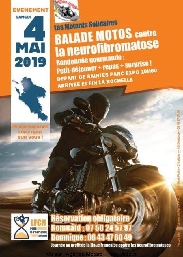 Balade Motos - 4 Mai 2019 - Saintes Parc Expo  Balade80