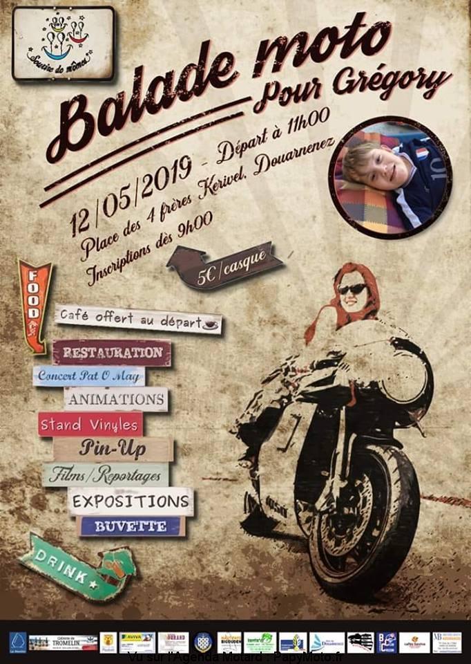 Balade Moto- Dimanche 12 Mai 2019 - DOUARNENEZ Balade82