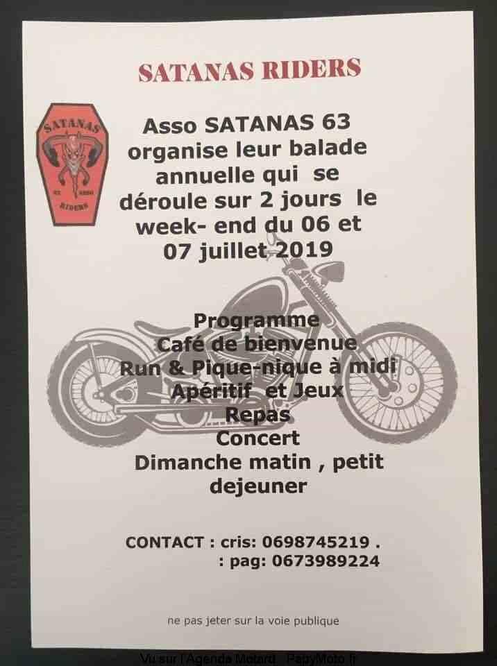 MANIFESTATION - Balade - 6 & 7 Juillet 2019 - Saint Saturnin  (63) Balade96