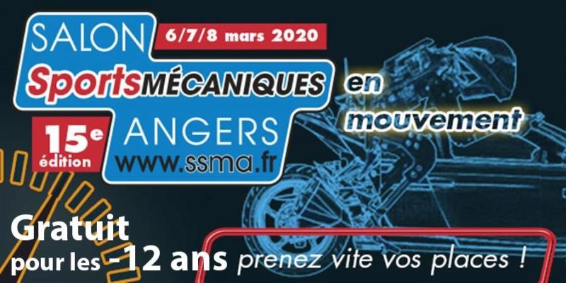 MANIFESTATION - Salon Sport Mécaniques - 6-7-8 Mars 2020 - Angers  Bandea10