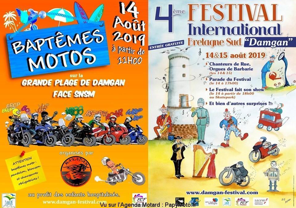 MANIFESTATION - Bapteme Moto & Festival 14 & 15 AOUT 2019- Damgan (56) Baptzo12