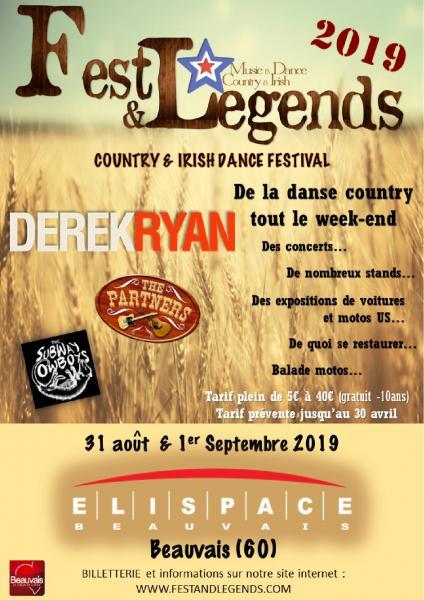 MANIFESTATION - Fest & Legends - 31 AOUT & 1er Septembre 2019 - BEAUVAIS - (60) Beauva12