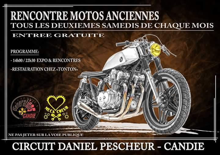 MANIFESTATION - Rencontres Motos Anciennes - 14 Mars 2020 - Toulouse (31100) Bf962711