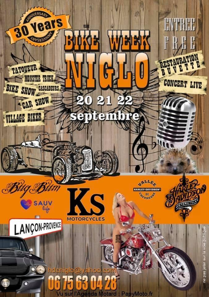 MANIFESTATION - Bike Week NIGLO - 20 - 21  & 22 Septembre 2019 - Lançon - Provence  Bike-w10