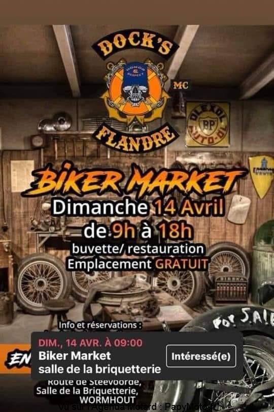 Biker Market - Dimanche 14 Avril 2019 - WORMHOUT  Biker-10
