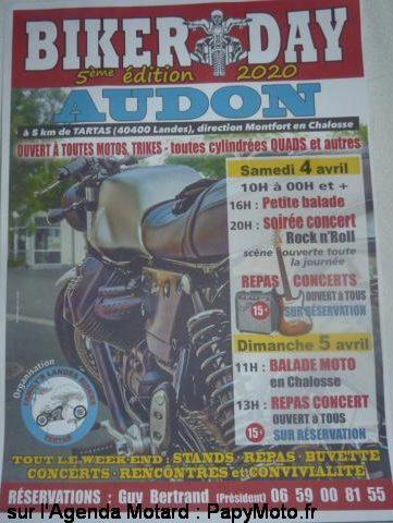 MANIFESTATION - Biker Day - 4 & 5 Avril 2020 - Landes (40400) Biker-13