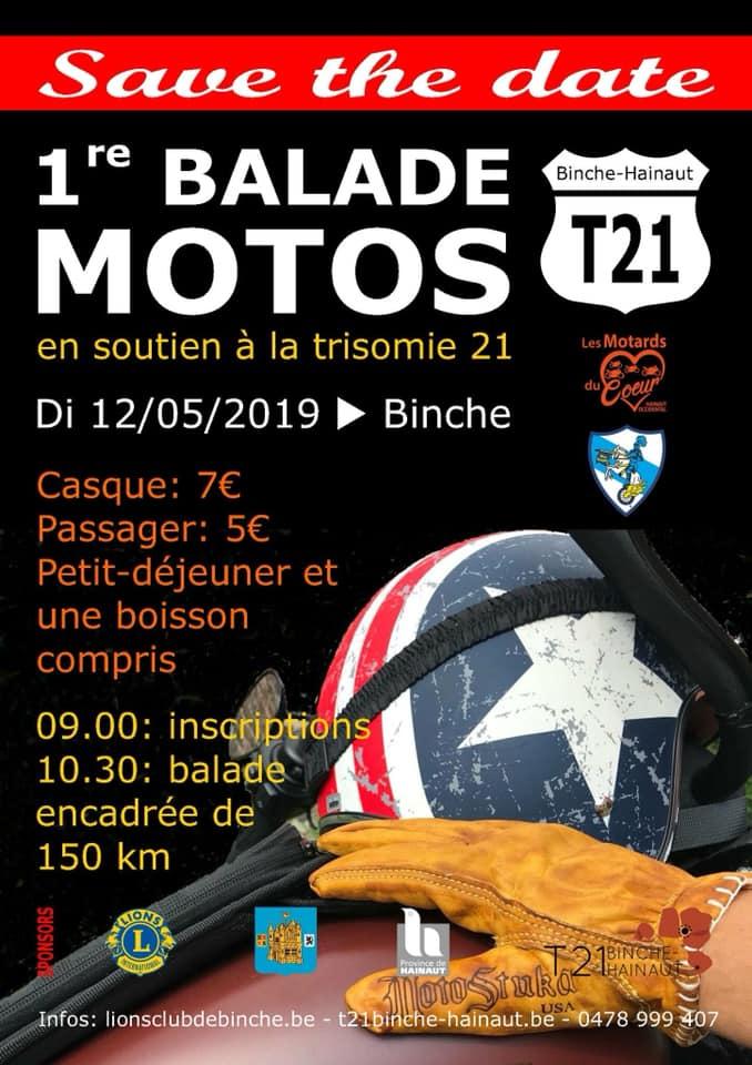 Balade Moto - 12 Mai 2019 - BINCHE  Binche10