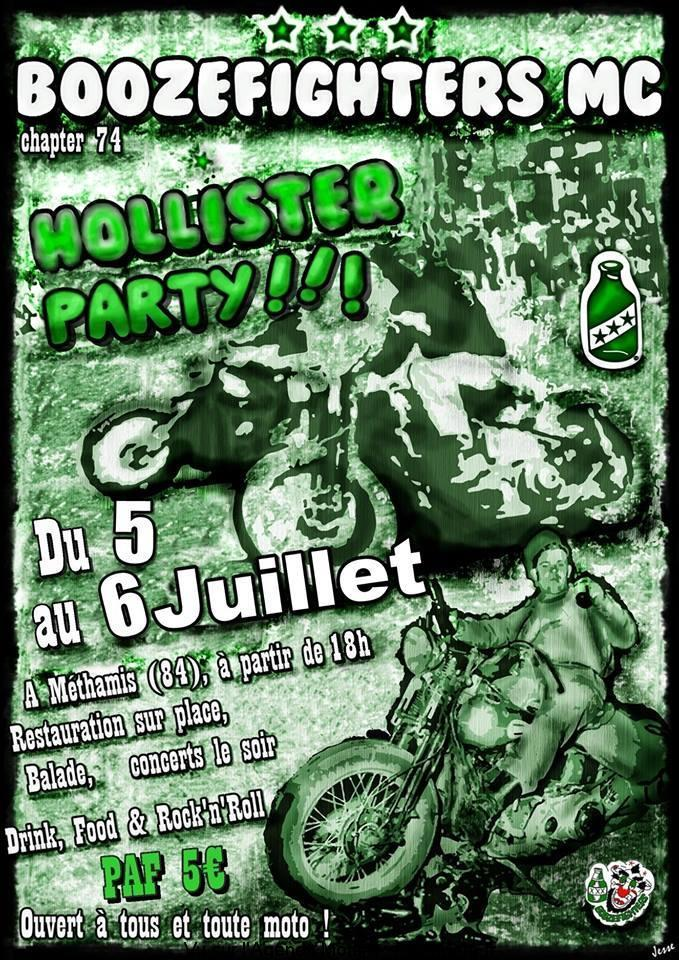 MANIFESTATION - Hollister Party - du 5 au 6 Juillet 2019 - Méthamis (84) Boozef11