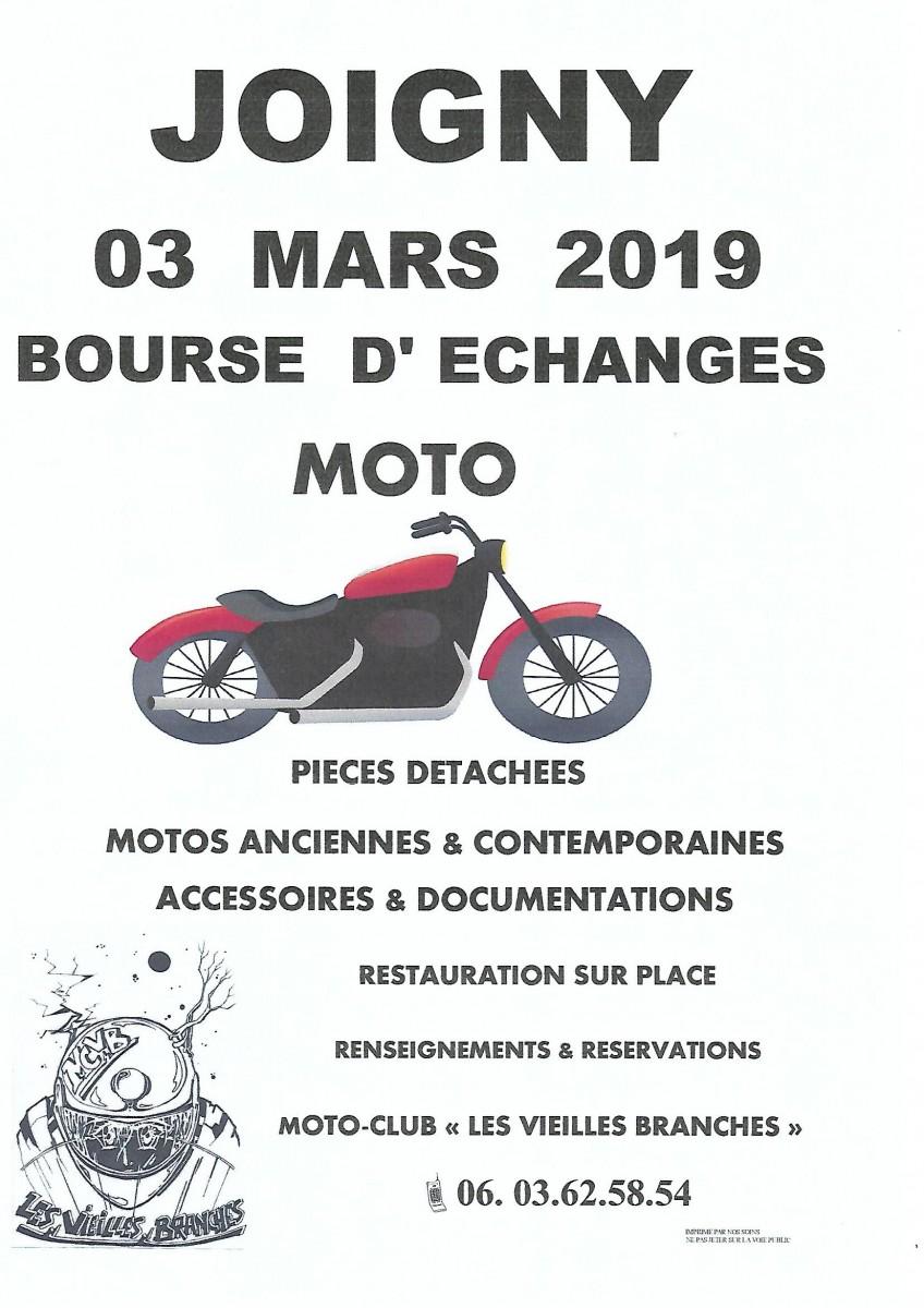 Bourse Moto - Dimanche  3 mars 2019  - JOIGNY Bourse20