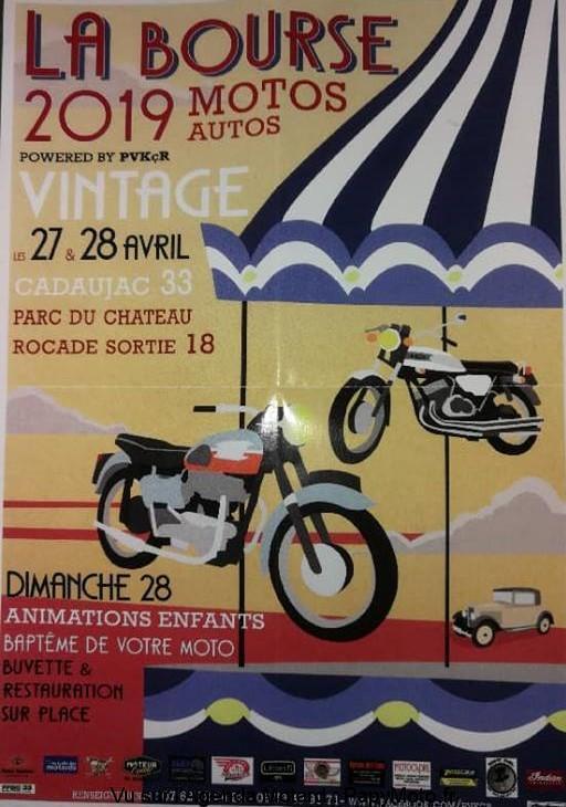 La Bourse Motos -  27 & 28 Avril 2019 -  CADAUJAC - (33) Bourse31