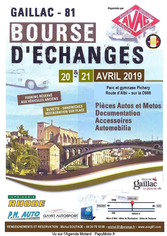 Bourse D'échanges - 20 & 21 Avril 2019 - Gaillac - (81) Bourse35