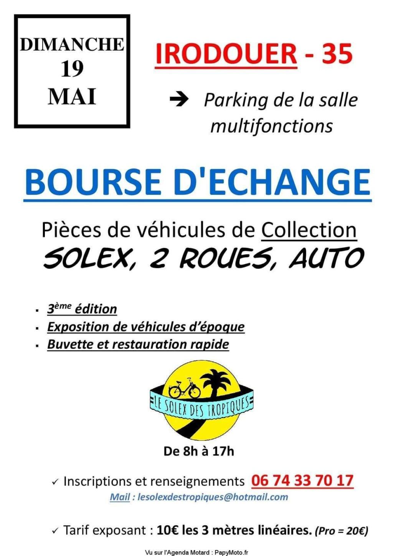 MANIFESTATION - Bourse D'échange - Dimanche 19 Mai 2019 - IRODOUER - (35) Bourse39