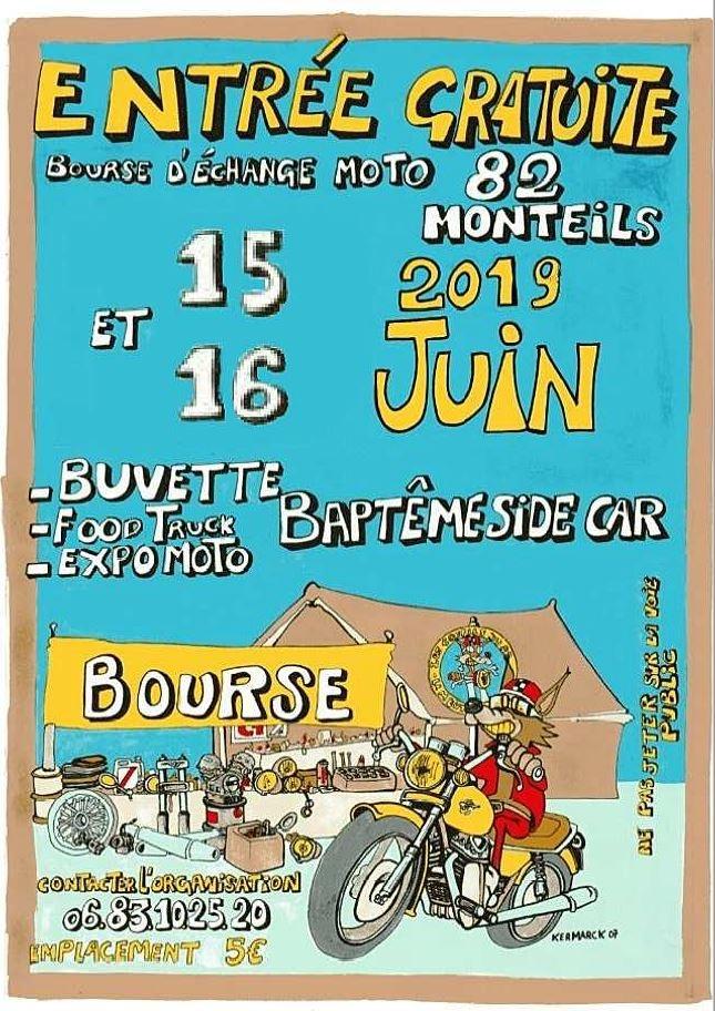 MANIFESTATION - Bourse - 15 & 16 Juin 2019 - Monteils (82) Bourse40