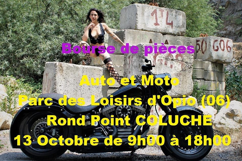 MANIFESTATION - Bourse de pièces - 13 Octobre 2019 - Parc des Loisirs d'Opio (06) Bourse42