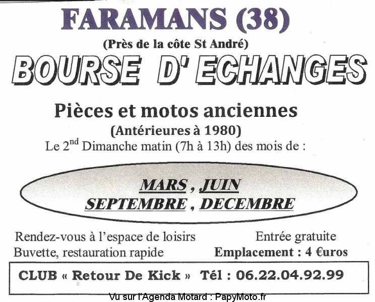MANIFESTATION - Bourse D'échanges - 8 Décembre 2019 - Faramans (38) Bourse46