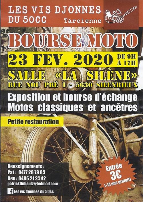 MANIFESTATION - Bourse Moto- 23 Février 2020 - Silenrieux (5630) Belgique  Bourse47