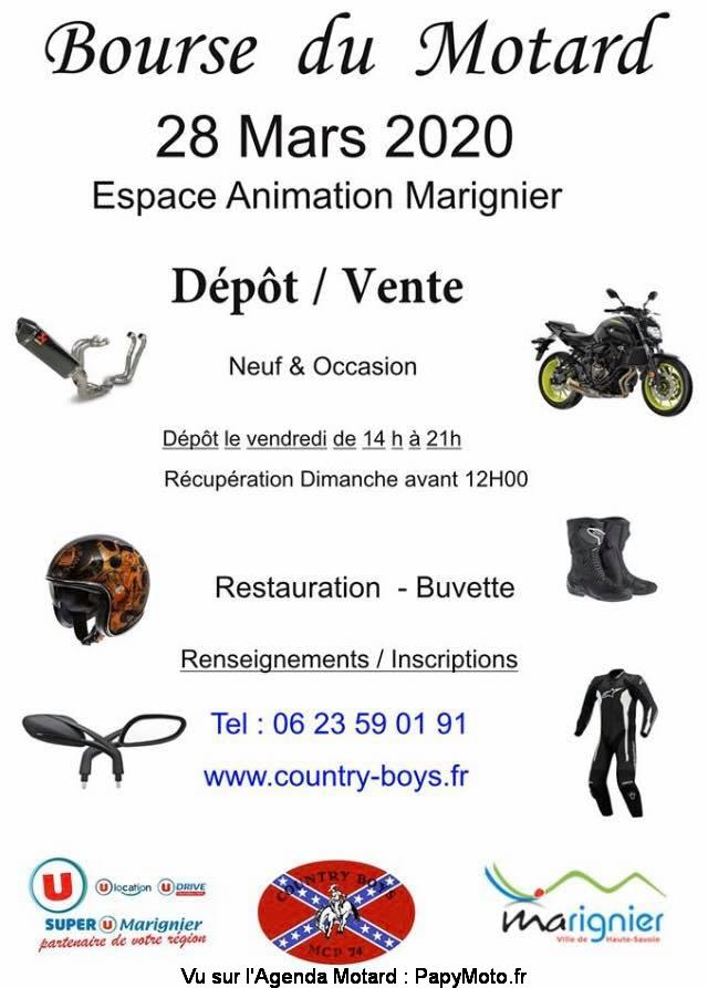 MANIFESTATION  - Bourse du Motard - 28 Mars 2020 - Marignier  Bourse48