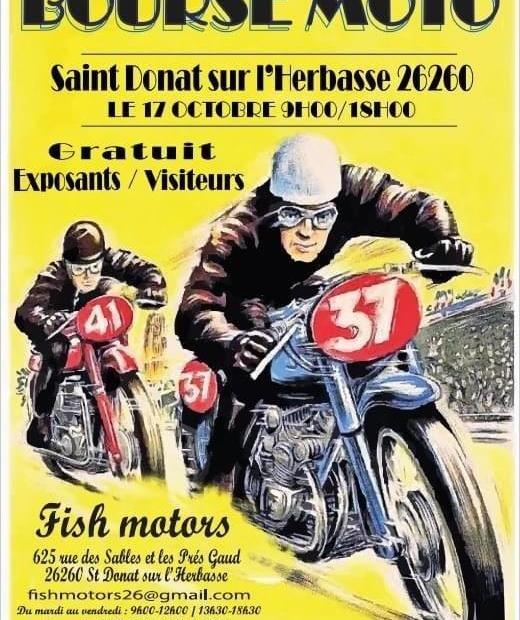 MANIFESTATION - Bourse Moto - 17 Octobre 2021 - Saint Donat sur L'Herbasse (26260) Bourse55