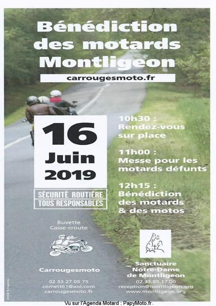 MANIFESTATION - Bénédiction des Motards - 16 Juin 2019 - La Chapelle Montligeon (61) Bzonzo13
