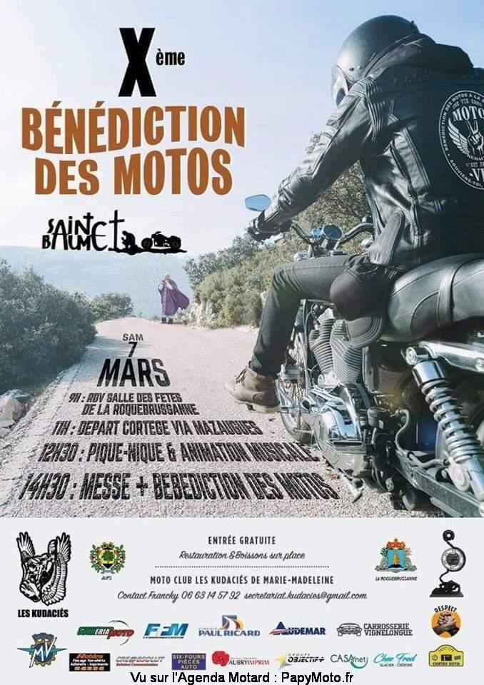 MANIFESTATION - Bénédiction des Motos  - Samedi 7 Mars 2020 - Sainte-Baume (83) Bzonzo15