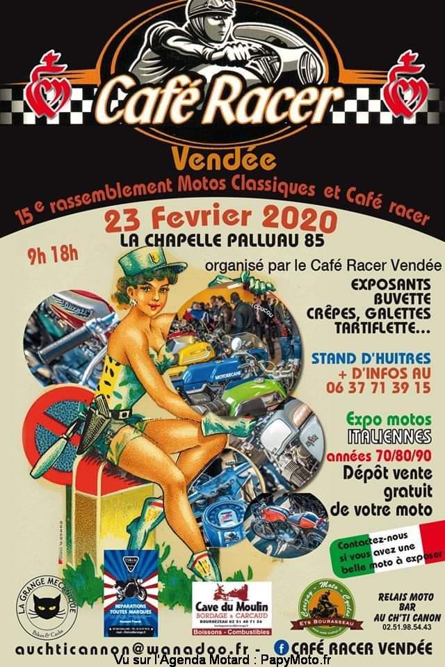 MANIFESTATION - Rassemblement - 23 Février 2020 - La Chapelle Palluau  - (85) Vendée  Cafzo-11