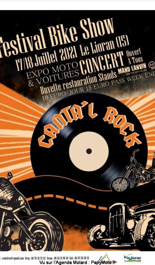 MANIFESTATION - Festival Bike Show - 17 & 18 Juillet 2021 - Le Lioran (15) Cantal10