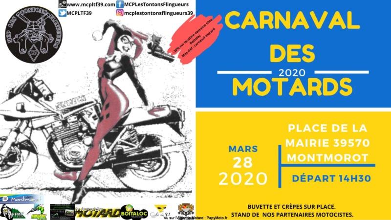MANIFESTATION  - Carnaval des Motards -28 Mars 2020 - Montmorot (39570) Carnav11