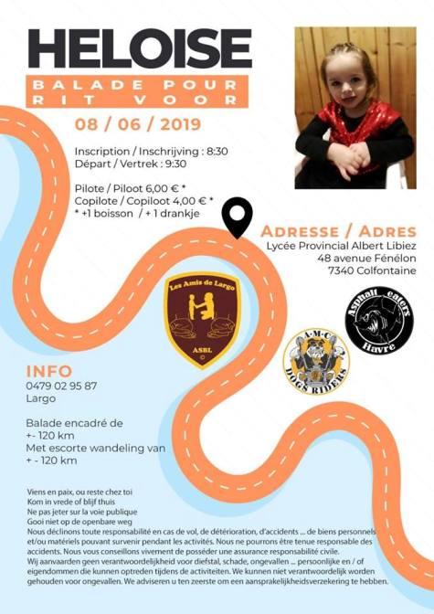 MANIFESTATION - Balade - 8 Juin 2019 - Colfontaine (7340) Belgique  Colfon10