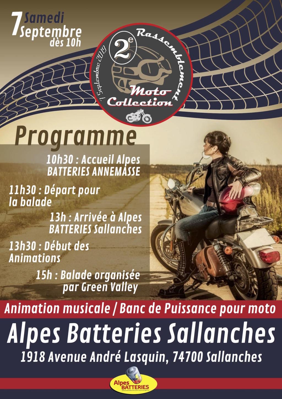 MANIFESTATION - Rassemblement Moto Collection - 7 Septembre 2019 - Sallanches (74700) Concen36