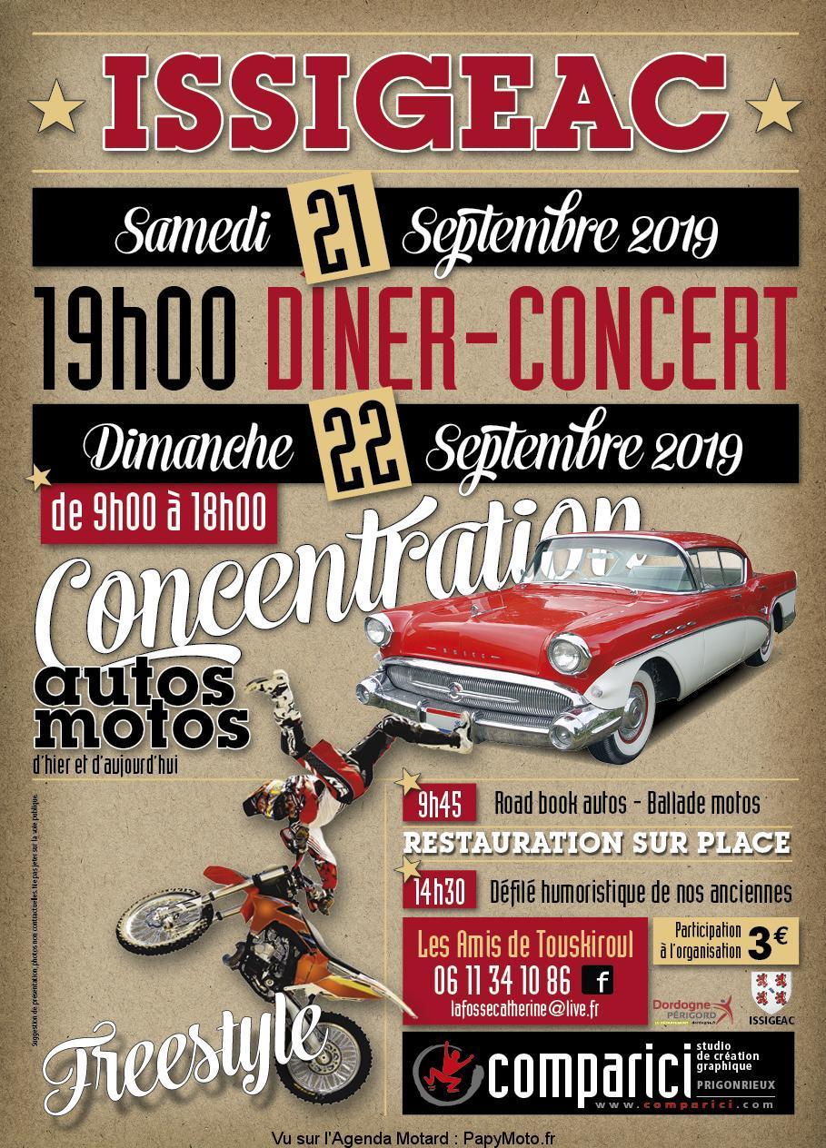 MANIFESTATION - Concentration - Dimanche 22 Septembre 2019 - ISSIGEAC Concen37