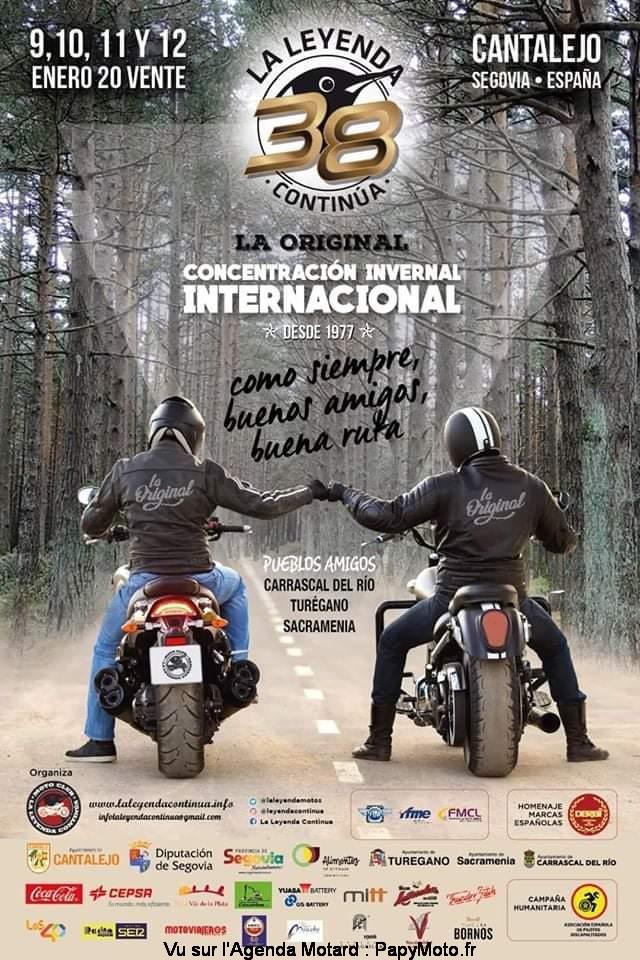 MANIFESTATION - Concentration - du 9 au 12 Janvier 2020 - Cantalejo (Espagne) Concen41