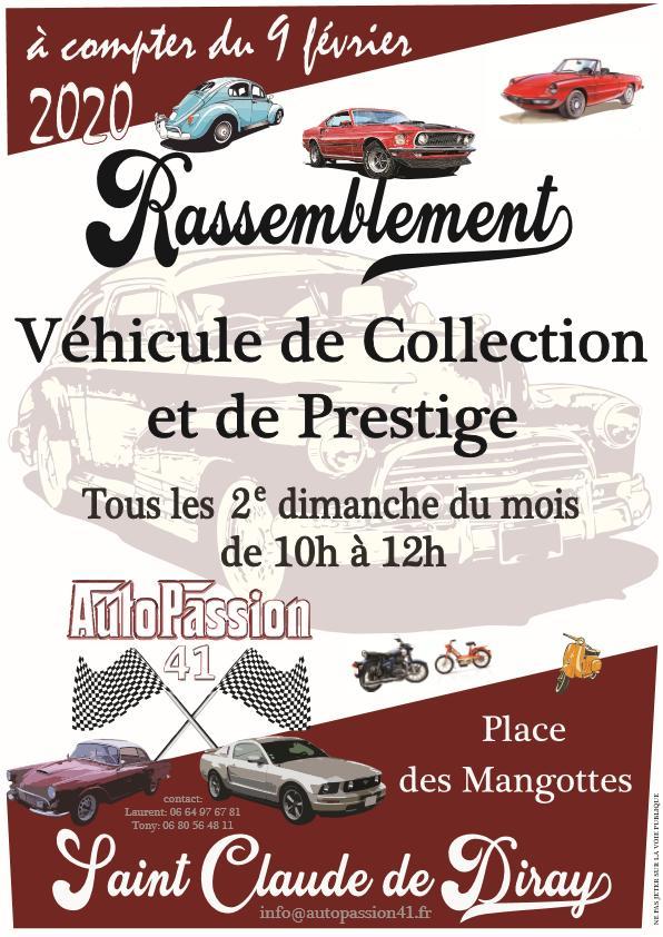 MANIFESTATION -  Rassemblement - 2ème Dimanche du Mois -  St Claude de Diray    Dcbe8711