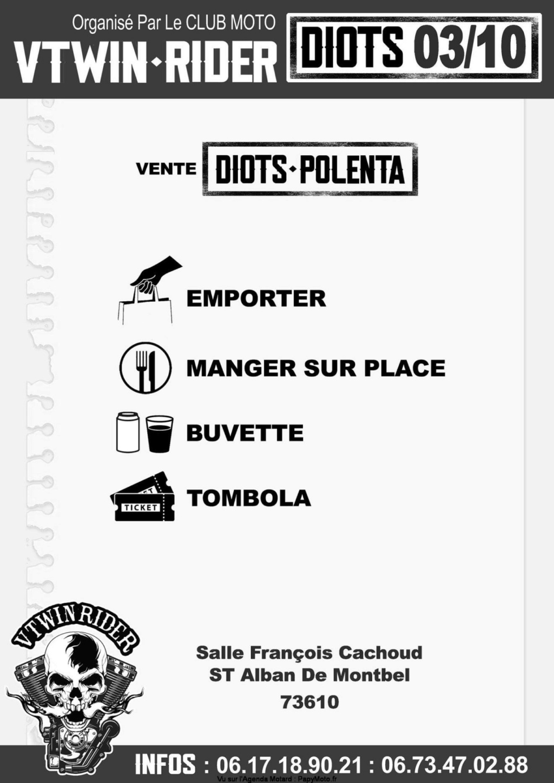 MANIFESTATION - DIOTS -POLENTA VTWIN - RIDER - 3 octobre 2021- St Alban de Montbel (73610) Diots-11