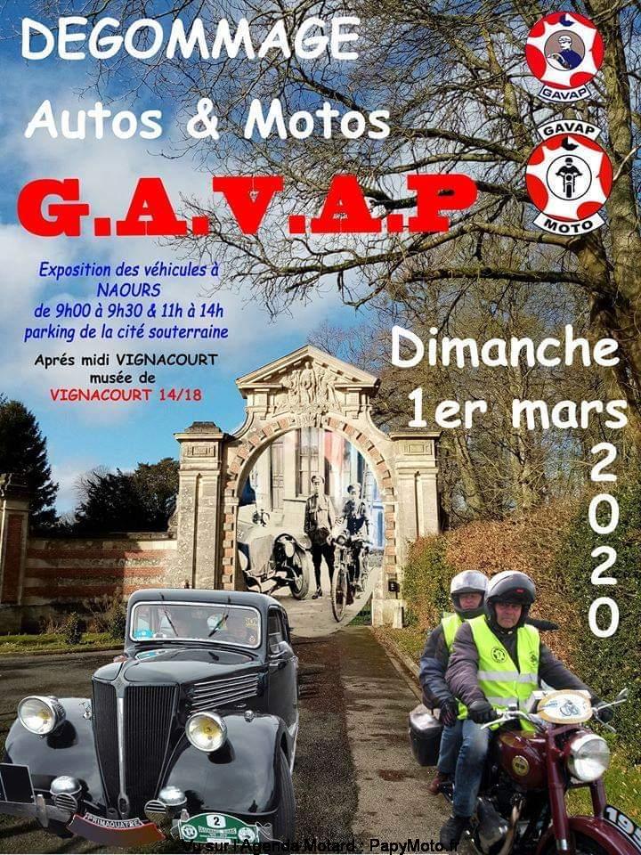 MANIFESTATION  - Dégomage Autos & Motos - Dimanche 1er Mars 2020 - Naours (80) Dzogom10