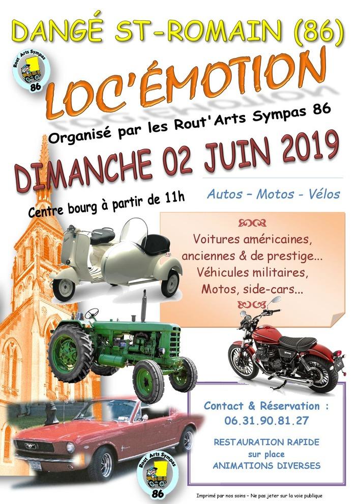 MANIFESTATION - Loc'émotion - Dimanche 2 Juin 2019 - Dangé - Saint - Romain (86) Event_10