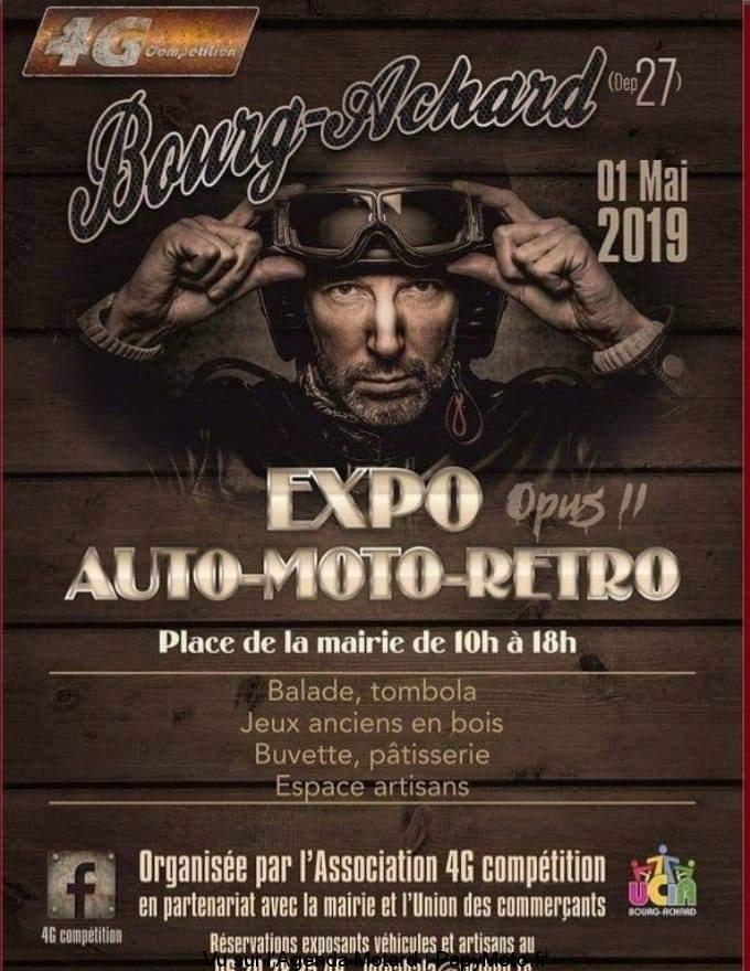 Expo Rétro - 1er Mai 2019 - Bourg-Achard (27) Expo-a10