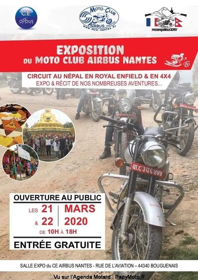 MANIFESTATION  - Exposition Motos - 21 & 22 Mars 2020 - Bouguenais (44340) Exposi15