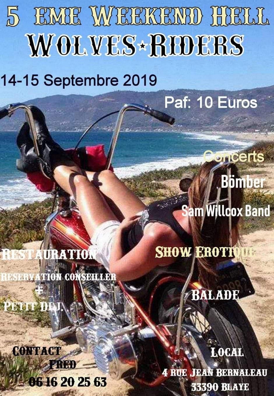 MANIFESTATION - Week-End Hell - 14 & 15 Septembre 2019 - Blaye (33390) Fb-img10