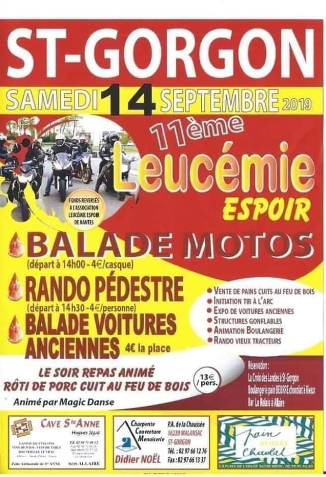 MANIFESTATION - Balade Motos -14 Septembre 2019 - St Gorgon  Fb_img15
