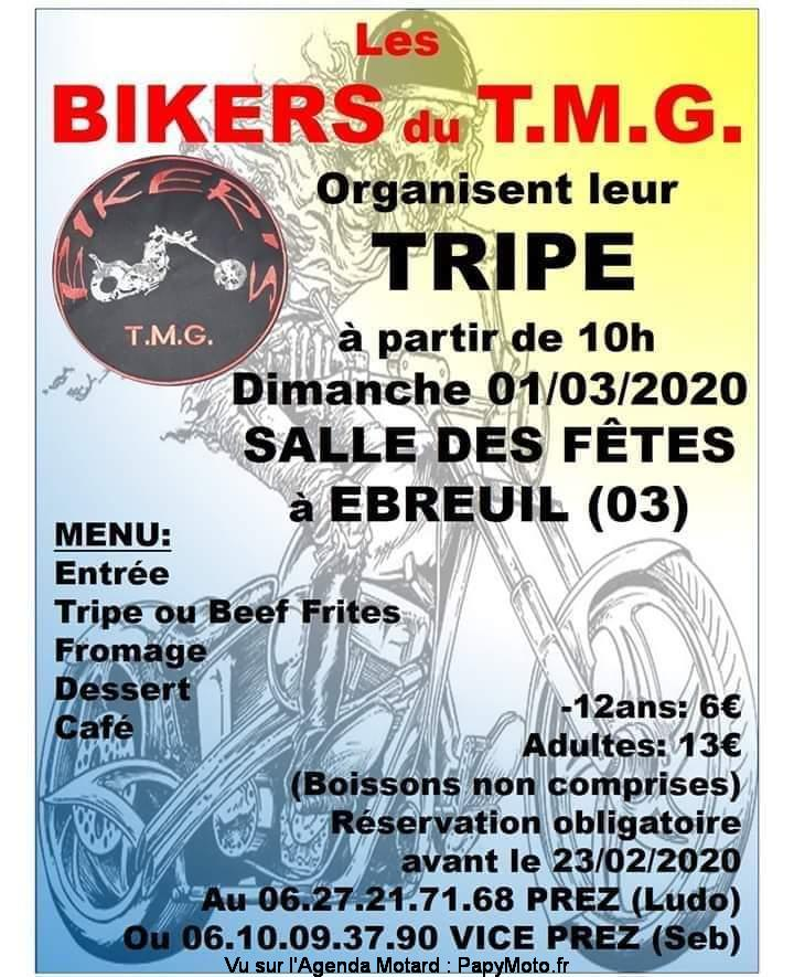 MANIFESTATION - Bikers du T.M.G - Dimanche 1er Mars  2020 - EBREUIL (03) Fb_img17