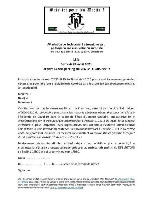 MANIFESTATION - zen motors seclin 24 Avril 2021 Fb_img23