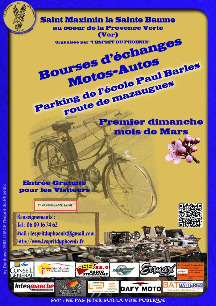Bourse - dimanche 3 mars 2019 - Saint Maximin - la - Sainte Baume  Flyer-11