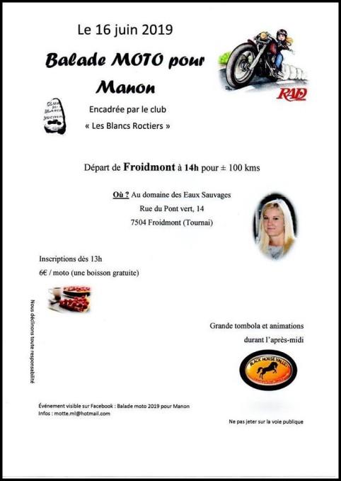 MANIFESTATION - Balade Moto - Dimanche   16 Juin 2019 - FROIMONT  ( Belgique ) Froidm10