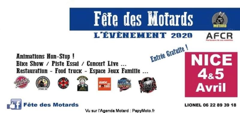 MANIFESTATION - Fête des Motards - 4 & 5 Avril 2020 - NICE  Fzote-45
