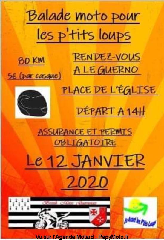MANIFESTATION - Balade Moto- 12 Janvier 2020 - Le Guerno Getpar10